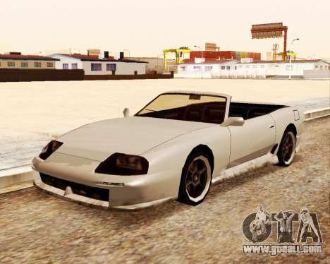 Jester Convertible for GTA San Andreas right view