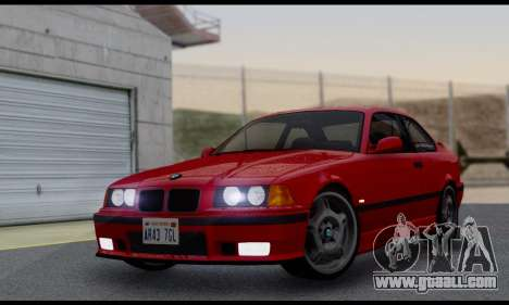 BMW M3 E36 1994 for GTA San Andreas back view