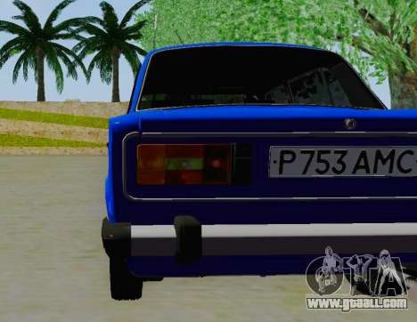VAZ 21061 for GTA San Andreas back view