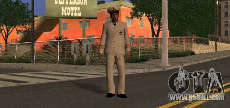 Navy Officer for GTA San Andreas