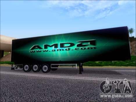 Trailer AMD Phenom X4 for GTA San Andreas engine