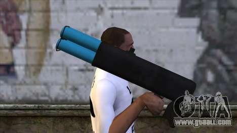 M20 BRS Rocket Launcher for GTA San Andreas third screenshot