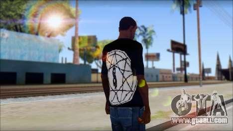 SlipKnoT T-Shirt mod for GTA San Andreas second screenshot