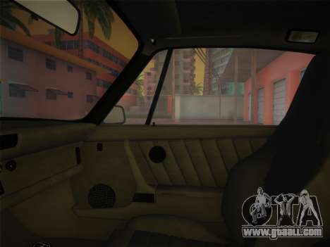 Porsche 911 Turbo 3.3 Coupe US-spec (930) 1978 for GTA Vice City inner view