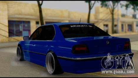 BMW 740i E38 for GTA San Andreas left view