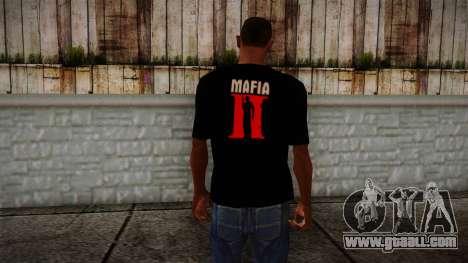 Mafia 2 Black Shirt for GTA San Andreas second screenshot