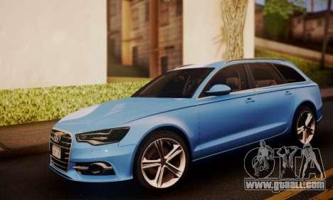 Audi S6 Avant 2014 for GTA San Andreas