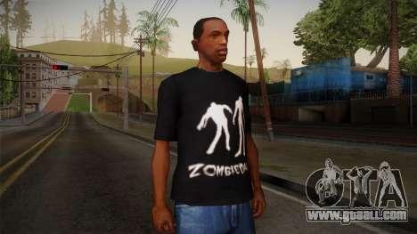 Zombie Polo Shirt for GTA San Andreas