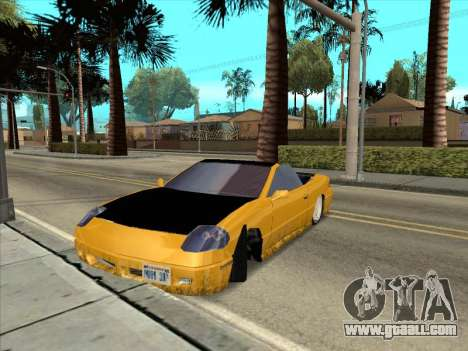 Alpha HD Cabrio for GTA San Andreas inner view