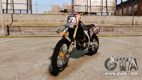 Yamaha YZF-450 v1.13 for GTA 4