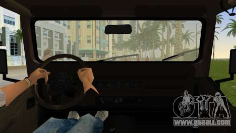 Jeep Wrangler for GTA Vice City back left view