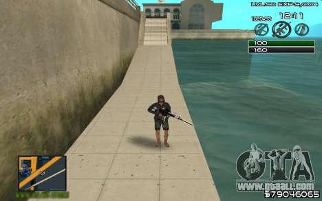 C-HUD by SampHack v.8 for GTA San Andreas