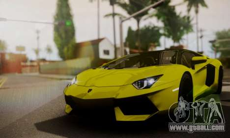 Lamborghini Aventador TT Ultimate Edition for GTA San Andreas side view