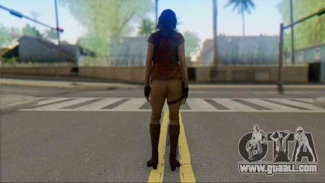 Helena Harper for GTA San Andreas second screenshot