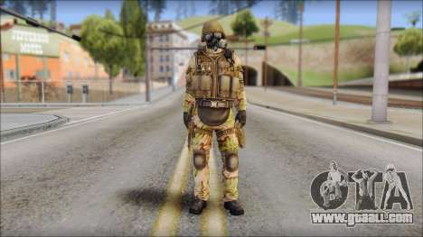 Desert GIGN from Soldier Front 2 for GTA San Andreas