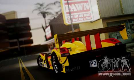 Porsche RS Spyder Evo 2008 for GTA San Andreas right view