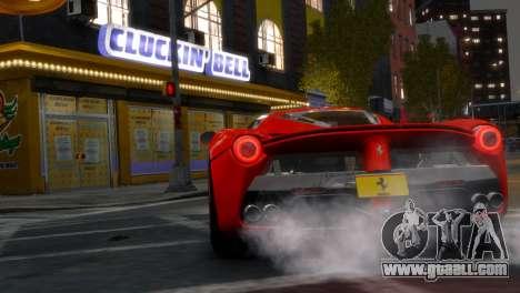 Ferrari LaFerrari WheelsandMore Edition for GTA 4 back left view