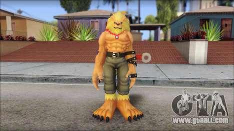 Leomon for GTA San Andreas second screenshot