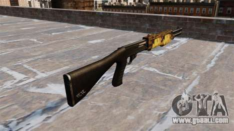 Gun Franchi SPAS-12 Fall for GTA 4 second screenshot
