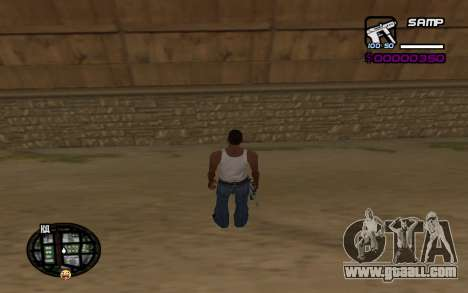 Hud by Videlka for GTA San Andreas