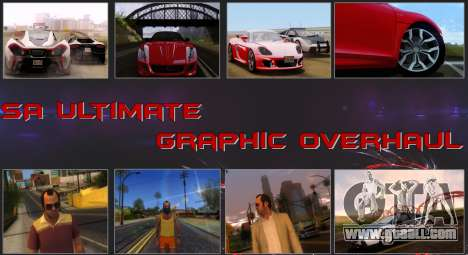 SA Ultimate Graphic Overhaul for GTA San Andreas