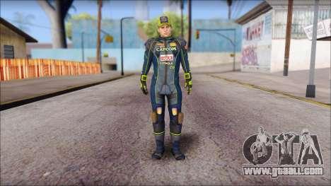 Piers Azul Gorra for GTA San Andreas