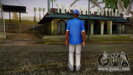 Sweet Blue Skin for GTA San Andreas second screenshot