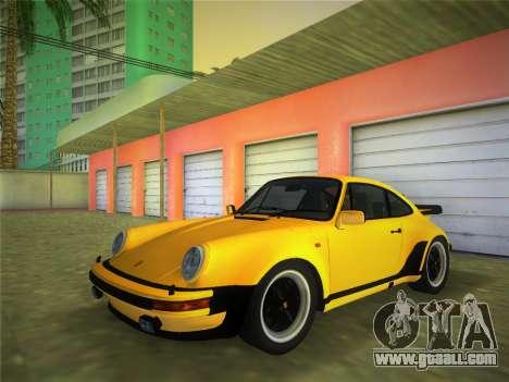 Porsche 911 Turbo 3.3 Coupe US-spec (930) 1978 for GTA Vice City