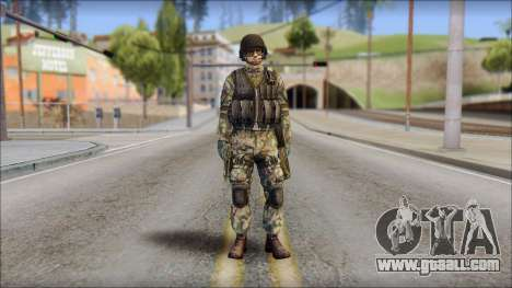 Forest GROM from Soldier Front 2 for GTA San Andreas