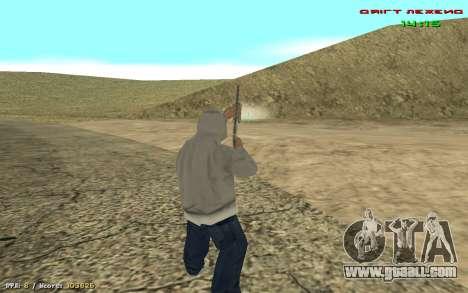 Cheat sight for GTA San Andreas third screenshot