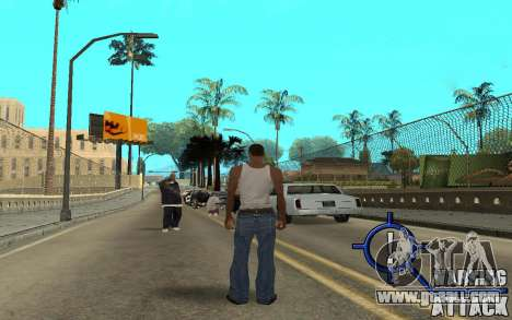 Warning Attack for GTA San Andreas second screenshot