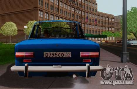 VAZ 2101 Coupe for GTA San Andreas back left view