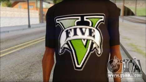 GTA 5 T-Shirt for GTA San Andreas third screenshot