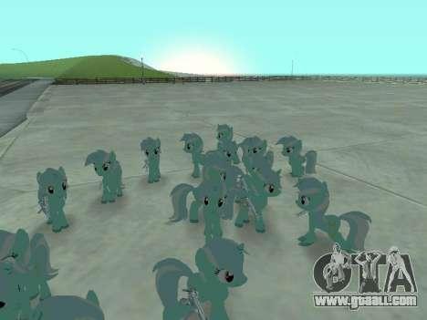 Lyra for GTA San Andreas third screenshot