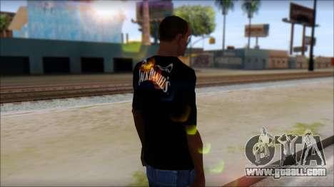 Jack Daniels T-Shirt for GTA San Andreas second screenshot