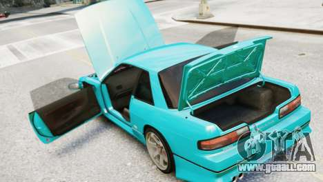 Nissan Silvia S13 v1.0 for GTA 4 back view