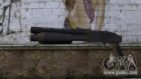 Sawnoff Shotgun from GTA 5 for GTA San Andreas