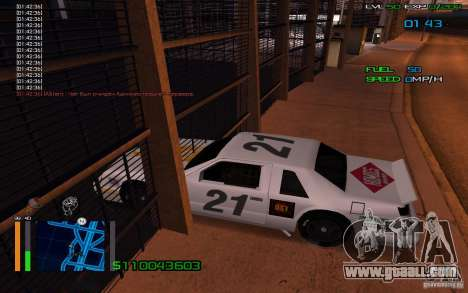 Riding through the walls for GTA San Andreas