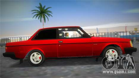 Volvo 242 Turbo Evolution for GTA Vice City right view