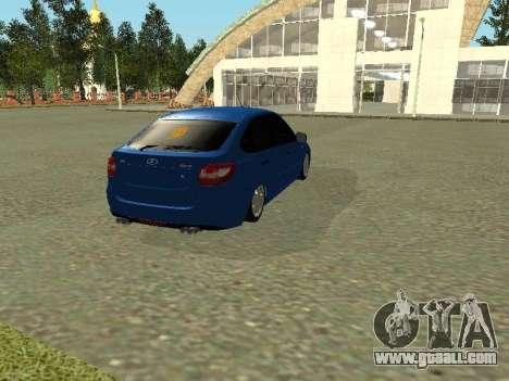 Lada Granta Liftback for GTA San Andreas right view