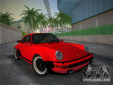 Porsche 911 Turbo 3.3 Coupe US-spec (930) 1978 for GTA Vice City side view