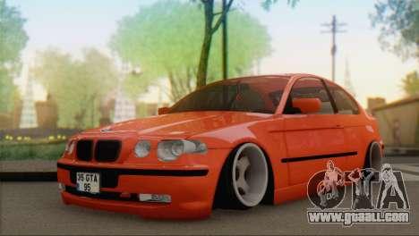 BMW 316i Compact for GTA San Andreas
