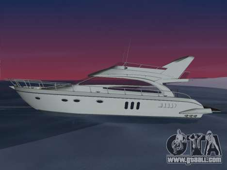 Yacht for GTA Vice City