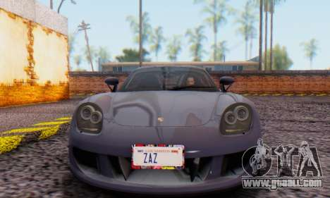 Porsche Carrera GT 2005 for GTA San Andreas left view