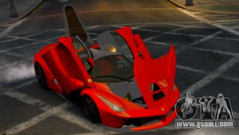 Ferrari LaFerrari WheelsandMore Edition for GTA 4 inner view
