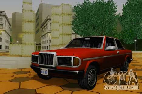 The Admiral Sore for GTA San Andreas