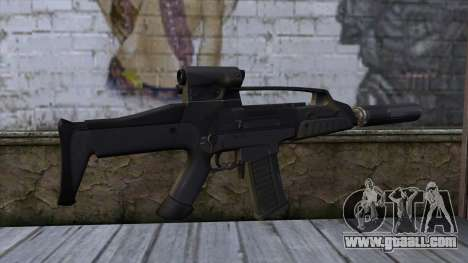 XM8 Compact Black for GTA San Andreas second screenshot
