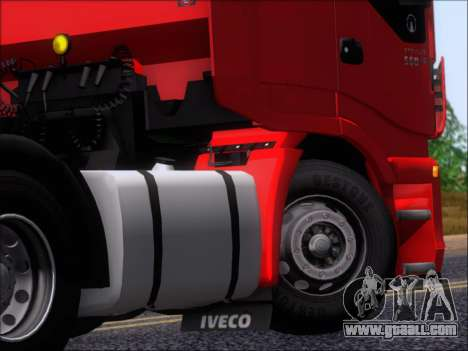 Iveco Stralis HiWay 560 E6 6x4 for GTA San Andreas side view