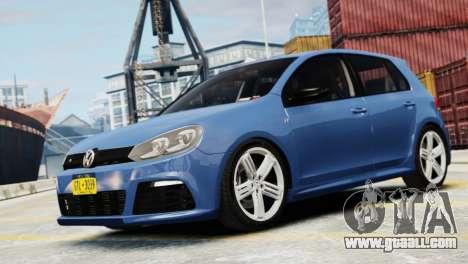 Volkswagen Golf R 2010 for GTA 4