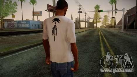 Afri Cola White Shirt for GTA San Andreas second screenshot
